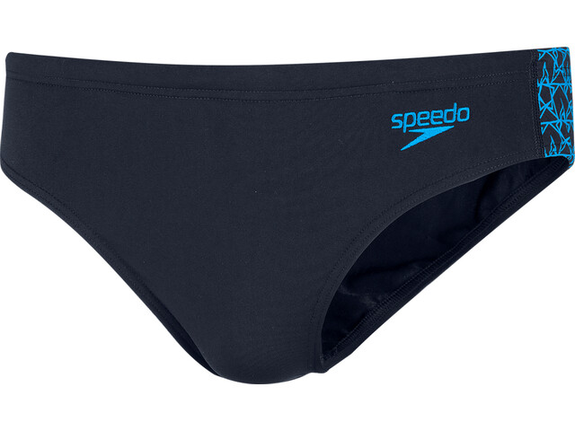 speedo Boomstar Splice Slip 7cm Homme, true navy/pool